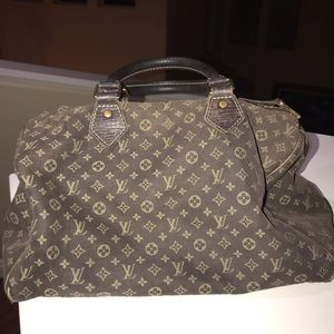 Authentic LV Ebene Mini Lin Speedy 30